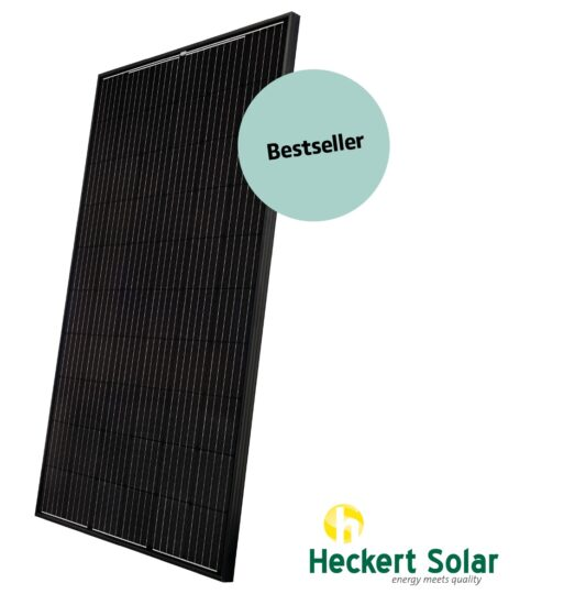 Heckert Solar Modul All Black